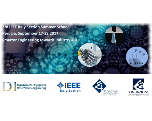 3rd IEEE Italy Section Summer School: Smarter Engineering for Industry 4.0 (SmE4I4.0)
